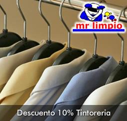 Servicio de Tintoreria 10%